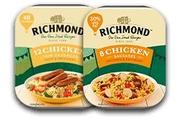 Richmond Sausages Chicken Range