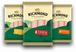 Richmond Sausages Pork range